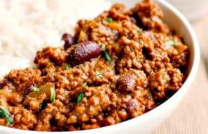 recette minceur fitness chili con carne