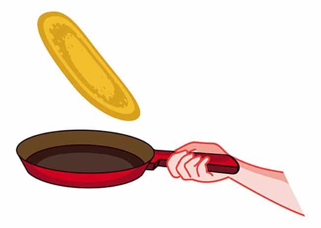 cuisson recette pancake light