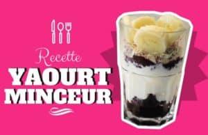 Recette minceur et diététiques à base de yaourt, rapide à préparer