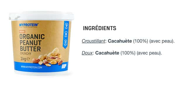 meilleur beurre de cacahuete fitness musculation