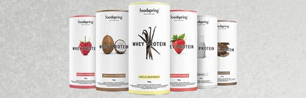 avis Foodspring : whey protein foodspring