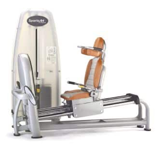 appareil musculation fessier leg press horizontale