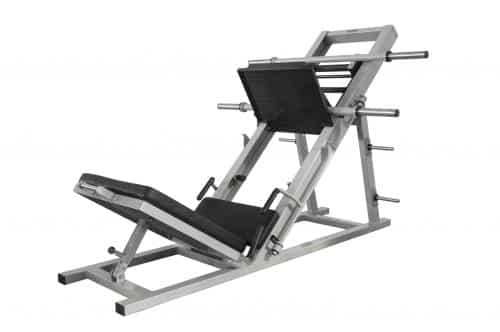 appareil musculation fessier leg press incline