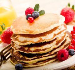 recette pancake healthy et light