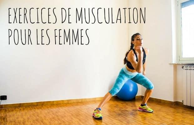 exercices de musculation pour les femmes