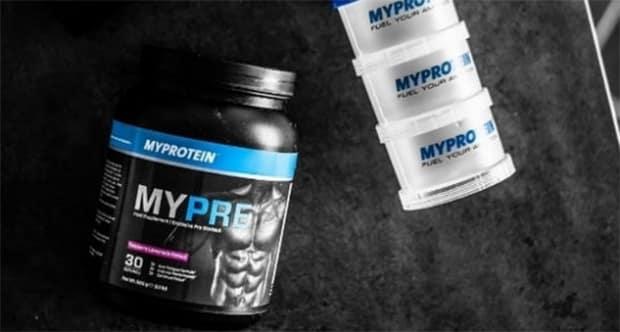 avis booster mypre myprotein