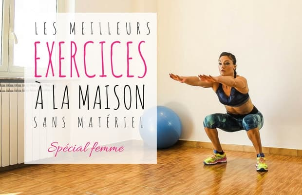 exercices Fitness à la maison