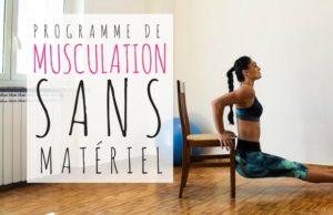 musculation sans materiel : programme d'entrainement maison gratuit