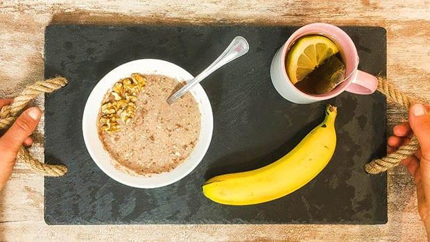 petit dejeuner healthy rapide