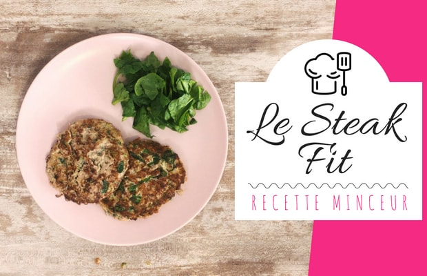 recette minceur simple : le steak fit