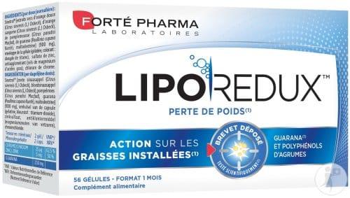 avis sur Liporédux de Forté Pharma