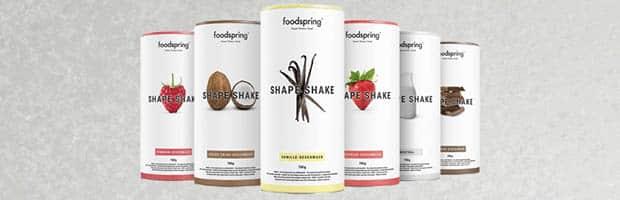 la meilleure protéine pour maigrir: shape shake de foospring
